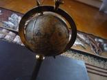 Офисная большая пепельница с глобусом венгрия, фото №6