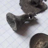 Пустотелые древние пуговицы бронза и не только, 18 шт, фото №6