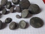 Пустотелые древние пуговицы бронза и не только, 18 шт, фото №7