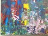 Картина двп., масло 48 х 24,5 см. Абстракция., фото №6