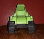 Игрушка, трактор, зелёный., фото №3
