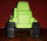 Игрушка, трактор, зелёный., фото №4