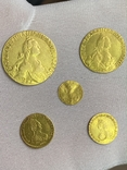Полная Коллекция Екатерины Второй 5 монет, фото №3