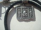 Касперовская икона Божией Матери серебро 925, фото №2