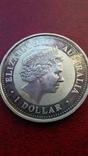 Австралийский серебряный доллар, фото №3