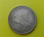 1 доллар 1839 г. Liberty США (копія), фото №3
