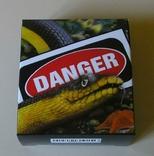 Австралия Тувалу 1 доллар 2013 Змея серебро 999 унция, фото №3