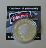 Австралия Тувалу 1 доллар 2013 Змея серебро 999 унция, фото №5