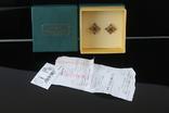Золото Золотые серьги Женские серёжки 585, фото №4