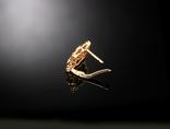 Золото Золотые серьги Женские серёжки 585, фото №10