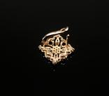 Золото Золотые серьги Женские серёжки 585, фото №12