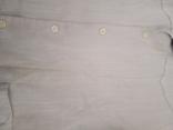 Мужская льянная сорочка с накладными карманами,вышитым воротником ,на пуговицах. СССР., фото №8