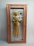 Мощевик-икона Святая Матрона Московская с частицей., фото №3