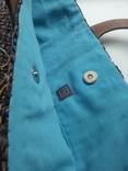 Сумка из соломки с вышивкой TU, фото №4