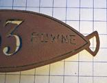Должностной знак Ровенского магистрата до 1939 г., фото №5