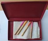 Люминесцентные карандаши СССР 4 шт., в коробке., фото №4