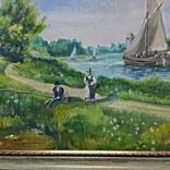 Картина художник Иванов Э.Н. 2017 г размер 40 х 60, фото №5