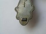 Большой нательный крестик серебро 925, фото №6
