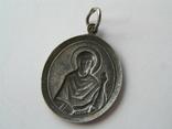 Ладанка иконка серебро Святая Великомученица Валерия 925, фото №3