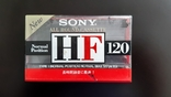 Касета Sony HF 120 (Release year: 1995), фото №2