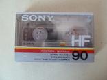 Аудиокассета Sony HF-90 новая, фото №2