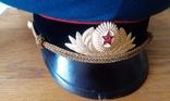 Фуражка парадная офицера танковых войск, фото №4