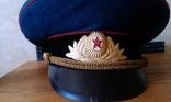 Фуражка парадная офицера танковых войск, фото №5