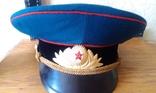 Фуражка парадная офицера танковых войск, фото №6