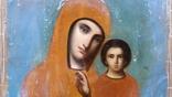 Ікона Казанська Богородиця, 21,8х17,2 см, фото №5