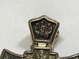 Золотой крест 585, фото №4