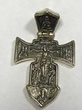 Золотой крест 585, фото №2