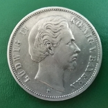 5 марок 1876 р.Бавария, фото №3