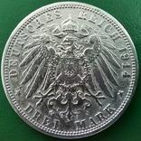 3 марки Пруссія 1914р., фото №2
