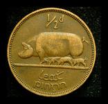 Ирландия 1/2 пенни 1935, фото №3