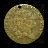Великобритания токен 1791, фото №3