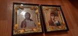 Иконы: Божья Матерь Казанская + Иисус - Спаситель, фото №2