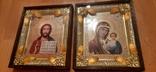 Иконы: Божья Матерь Казанская + Иисус - Спаситель, фото №5