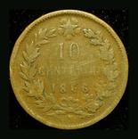 Италия 10 чентезими 1894, фото №3
