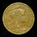 Франция 10 сантим 1916, фото №3