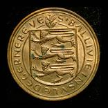 Гернси 8 даблов 1956 aUnc, фото №3