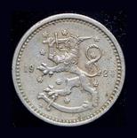 Финляндия 1 марка 1924 редкий год, фото №2