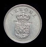 Дания крона 1966, фото №3