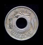 Британский Египет 1 миллим 1917, фото №2