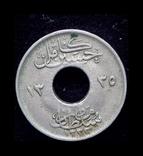 Британский Египет 1 миллим 1917, фото №3