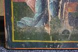Спаситель на троне 35х27, фото №3