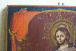Спаситель на троне 35х27, фото №7
