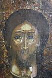 Спаситель 47х36 старая, фото №7