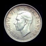 Великобритания шиллинг 1938  серебро шотландский, фото №2