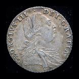 Великобритания шиллинг 1787г., фото №2