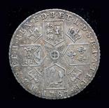 Великобритания шиллинг 1787г., фото №3